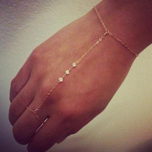 Bracelet classique acrylique perles bracelets Femmes Meilleur ami de l/'humeur Tracker TRENDY