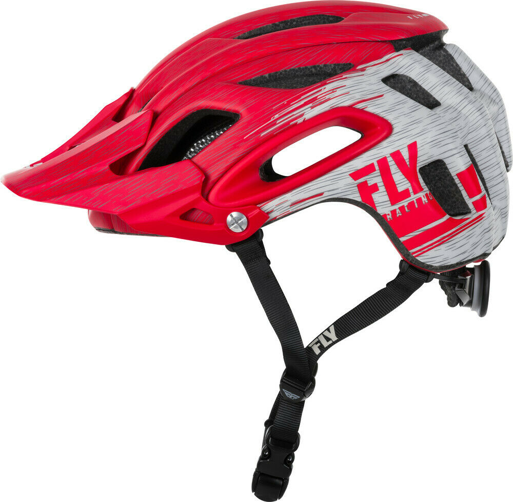FLY Racing 2019 Freestone Ripa Bicycle Helmet - Red Grey   great selection & quick delivery