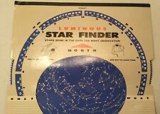 Vtg 1962 BOY SCOUT Paper Luminous Glow Star Find Hubbard Science Astro Education