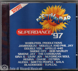 FESTIVALBAR-97-SUPERDANCE-Mint-Come-Nuovo