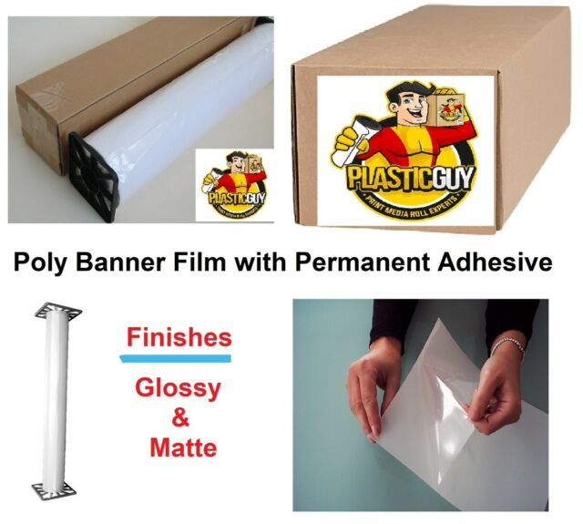 picture about Inkjet Printable Vinyl Roll named Inkjet Printable Poly-Vinyl Banner Roll Tear-Evidence Self-Adhesive (Pick out Dimensions)