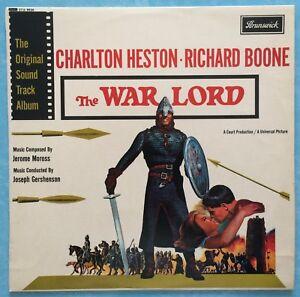 JEROME-MOROSS-WAR-LORD-ORIGINAL-SOUNDTRACK-1965-UK-STEREO-VINYL-LP-Ref-1