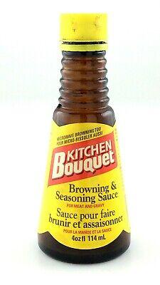Vintage 1970s Kitchen Bouquet Browning Seasoning Sauce Meat Glass Jar L654 Ebay