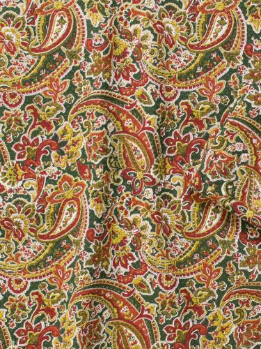April Cornell Tea Towel Priscilla/'s Paisley Collection NWT 100/% Cotton Green