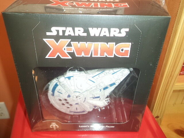 Star Wars X-Wing 2nd Edition Lando's Millennium Falcon FFG Miniatures Game New