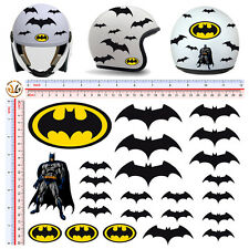 adesivi casco moto batman cartoon sticker helmet tuning motocycle 24 pz.