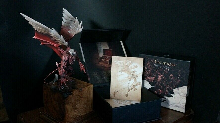 Le Licorne Le Phoenix Miniatyr. Bara 200 gjort
