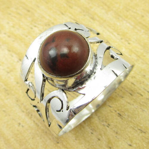 925 Silver Plated Celtic Brand New Ring Multiple Sizes and Natural Gemstones