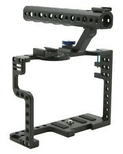 DSLR Camera Cage With Top Handle Grip For Panasonic Lumix GH5 Camera Rig F20577
