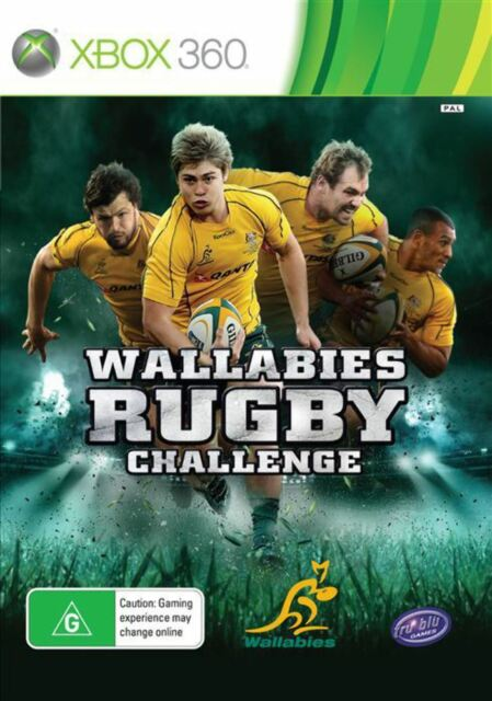 Wallabies Rugby Challenge Xbox 360 Game USED