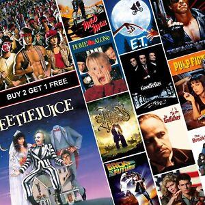 GROUNDHOG DAY MOVIE POSTER FILM A4 A3 ART PRINT CINEMA