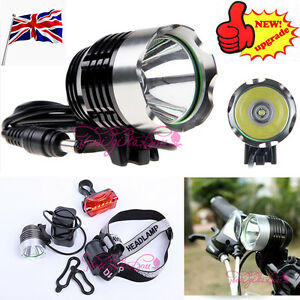 2000-Lm-CREE-XM-L-XML-T6-LED-Bicycle-Bike-light-Head-Light-Headlamp-Rechargeable
