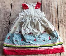 Gymboree DRESS 5T Nautical Sailboat Summer Party Pink Birds Kites SPRING 2013