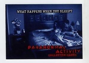 Breygent-2010-Paranormal-Activity-Promo-Card-Non-Sport-Update-NSU