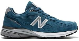 NEW-BALANCE-990-M990NS4-NORTH-SEA-BLUE-WHITE-GREY-MADE-IN-USA-SUEDE-MESH