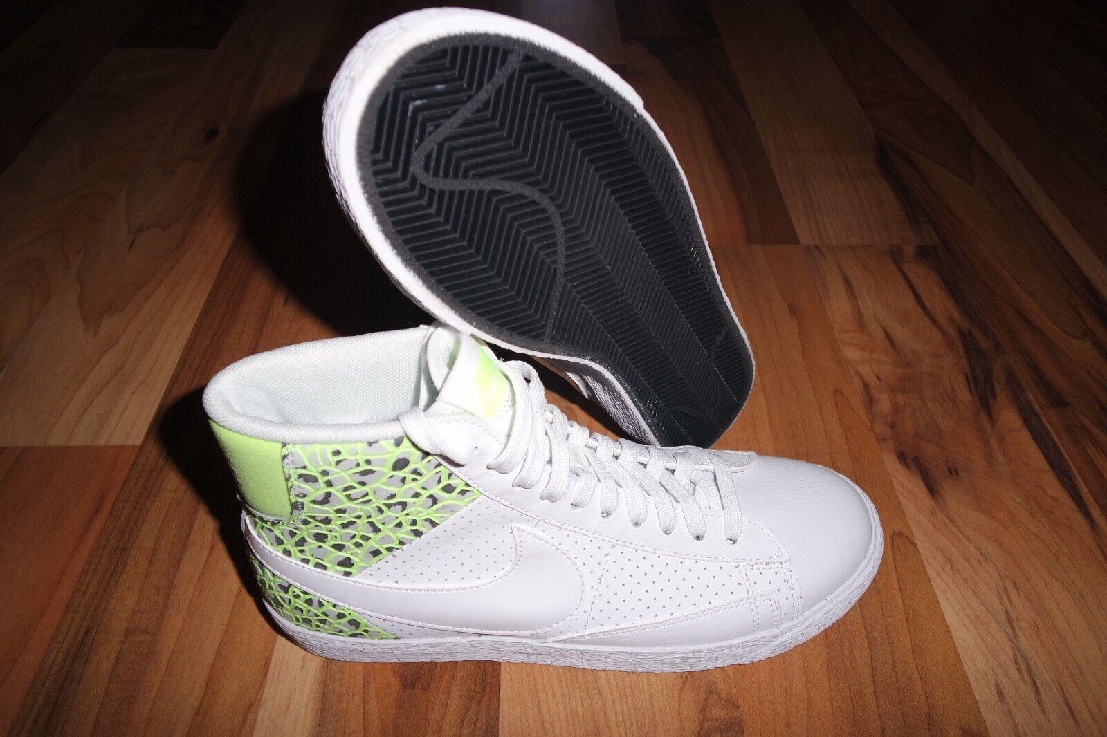 Para mujer Nike Blazer Blazer Blazer Mid Prm Hi Top Zapatillas Zapatos 403729 105 voltios blancoo 7.5 EU 38.5  promociones de descuento