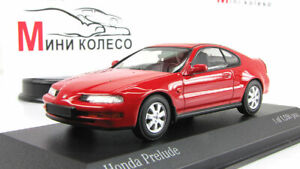Scale-car-1-43-Honda-Prelude-1992-Red