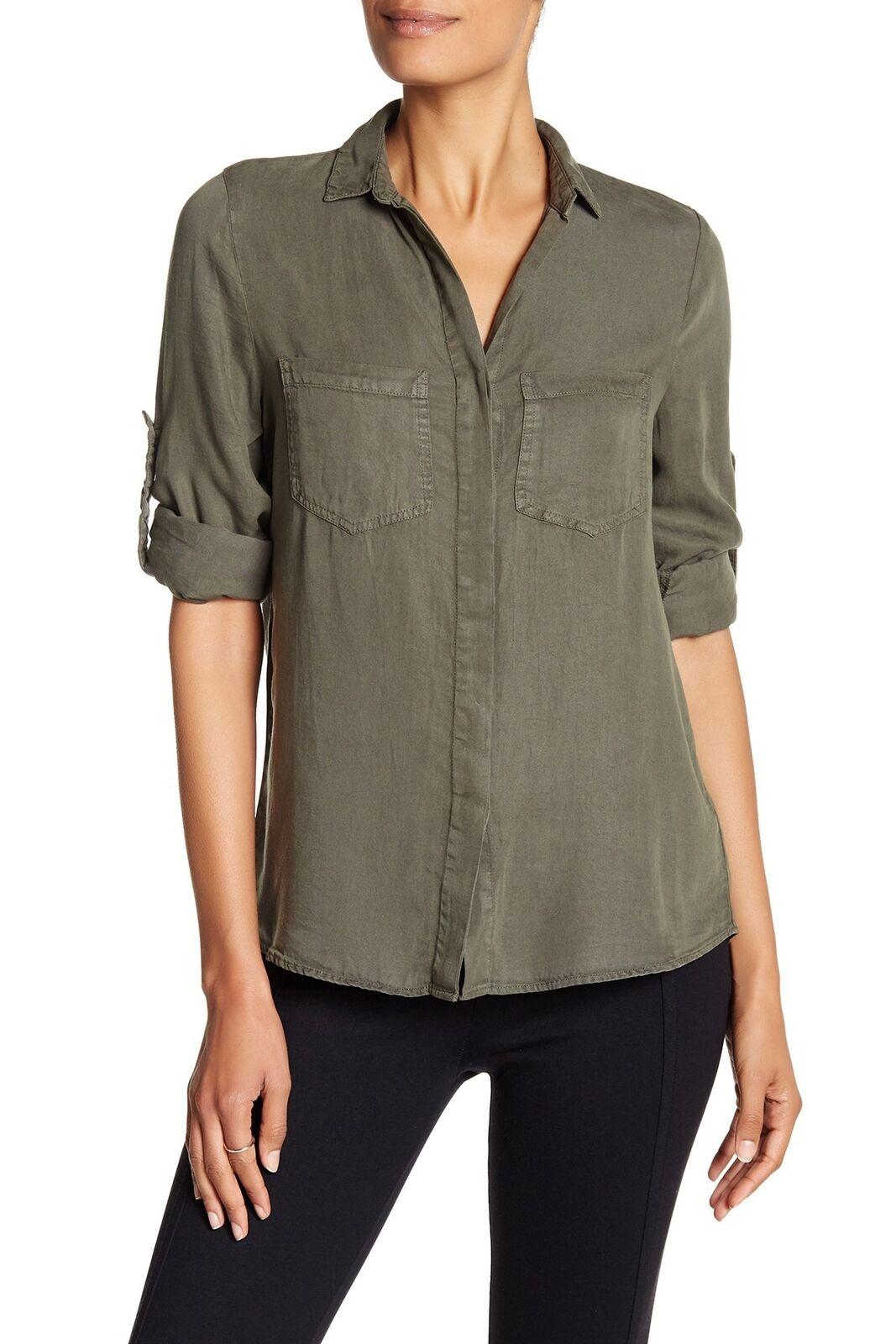 WALTER BAKER Woherren Olive Nessa Shirt W52093  NEW