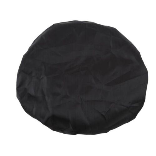 Black Portable Waterproof Bike Seat Cover Bicycle Saddle Plastic Rain Cover WE