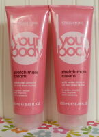 Lot Of 2 Creightons Your Body Stretch Mark Cream Sweet Almond Oil & Shea Butter