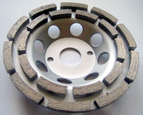 Neu Betonschleifer 10 Stück Diamant-Schleiftopf Schleifteller 125 mm