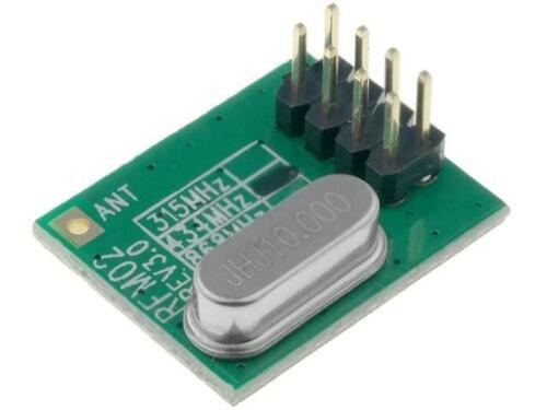 RFM02-433-D Modul RF FM Sender FSK 433,92MHz SPI 2,2-5,4VDC 8dBm