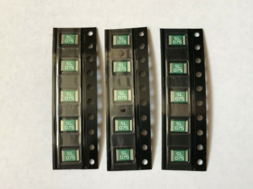 1812 Fuse 0.75A 750MA 24V PPTC 4532 Self recovery fuse 4.5mm*3.2mm amp SMD 750