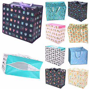 Image Is Loading Reusable Storage Ping Bags Zipped Strong Jumbo Large