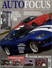 Auto Focus 1 98 1998 Miura 250 GTO 300 SLR EB 112 Viper Otto Kern Bugatti EB112