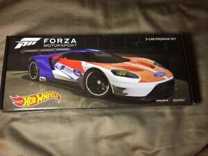 Hot-Wheels-2017-Forza-Motorsport-TRU-Retro-Entertainment-5-Car-Premium-Set