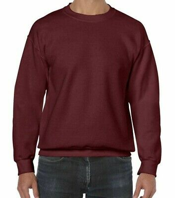 Large Big Mens workwear work wear sweatshirt RX300 BURGUNDY XXL 2XL New
