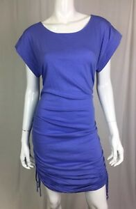06790c9d19 New York   Co Women s Small Purple Draped Ruched Bodycon T Shirt ...
