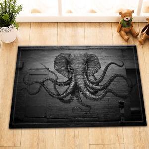 Image Is Loading 15x23 034 Octopus Elephant Kitchen Bathroom Floor Non