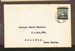 NEWFOUNDLAND-OVERPRINT-75-VF-CANADA-HALIFAX-NOVA-SCOTIA-MOV28-13