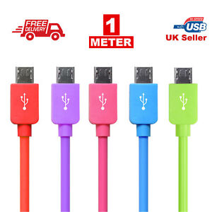 1M-Long-Micro-USB-Data-Sync-Charger-Cable-Lead-For-Samsung-LG-Android-Phones