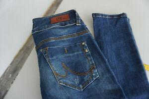 LTB-5065-stretch-super-slim-Jeans-low-rise-Hose-27-32-W27-L32-darkblue-used-ad4