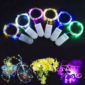 6x-2M-20-LED-Battery-Micro-Rice-Wire-Copper-Fairy-Lights-String-Party-XMAS-Decor
