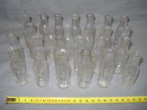 bouteilles de médecine datant