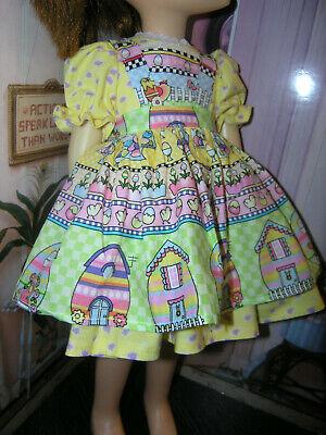 "Green Nylon Net Slip Petticoat 25/"" Doll clothes fits Mattel Charmin Cathy"