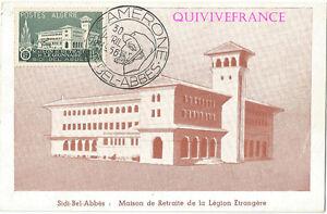 CPL140-CAMERONE-1956-SIDI-BEL-ABBES-MAISON-DE-RETRAITE-LEGION-ETRANGERE