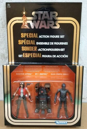 "HASBRO STAR WARS 3.75/"" SPECIAL FIGURE DOCTOR APHRA COMIC SET EUROPEAN VERSION"