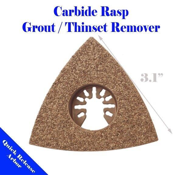 Tri Carbide Rasp Blade Oscillating Multi Tool For Porter cable Rockwell Ryobi