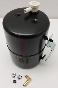Image Is Loading Brake Vacuum Canister Reservoir Brake Booster Can Black