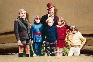 Willy-Wonka-amp-The-Chocolate-Factory-034-Gene-Wilder-034-Movie-Tabletop-Display-Standee