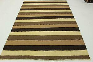Original-Persan-KELIM-Nature-Couleur-250x180-beige-marron-handmade-5014