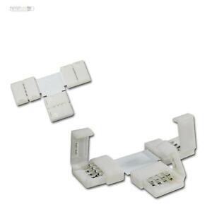 Verbinder 8mm 6 x Direktverbinder RGB SMD LED Stripe Streifen Schnellverbinder
