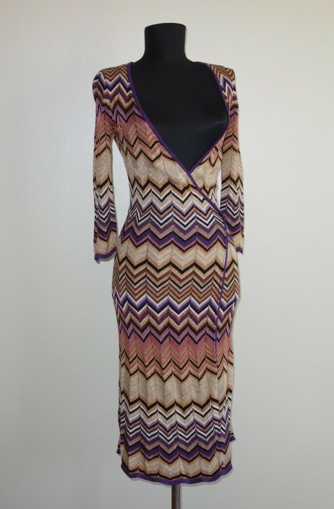 Missoni Lindex Dress 100% Viscose Size XS
