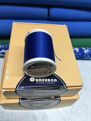 D 1 Spoo... C Gudebrod Fishing Rod Winding thread NCP Size A  White 002