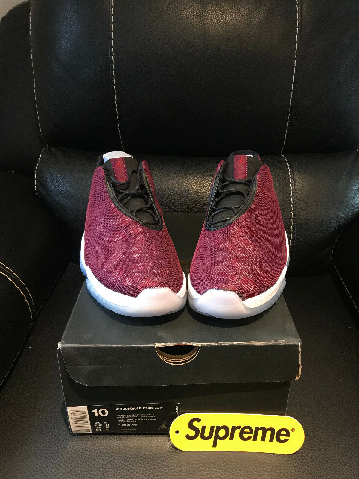 Nike Air Jordan Future Low Bordeaux Retro Gr 44    | Sonderkauf