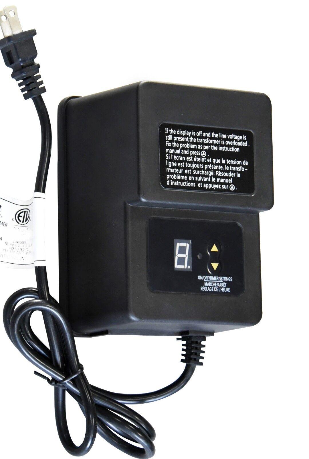 60w 12v AC Low Voltage Landscape Transformer Malibu Watt Transformer Wiring Diagram on